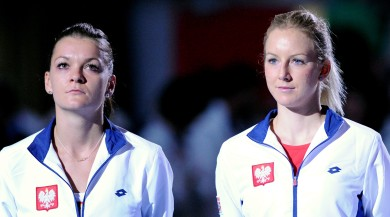 Agnieszka et Urszula Radwanska