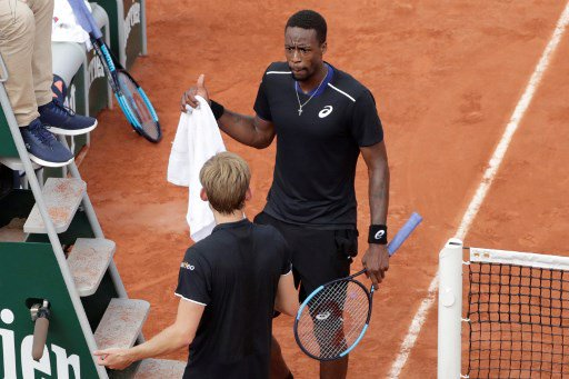 David Goffin et Gaël Monfils